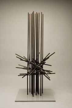 Herbert Bayer - Memorial Structure | From a unique collection of abstract sculptures at http://www.1stdibs.com/art/sculptures/abstract-sculptures/