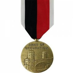 The World War II Army of Occupation Medal (AOM) is a decoration awarded to members of the U.S. Army and Air Force who served in specific regions of Europe or Asia following the end of WWII.