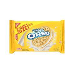 Nabisco Oreo Golden Birthday Cake Flavor Creme Sandwich Cookies