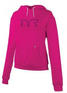 TYR Pink Women's Big Logo Event Hoodie #TYRPink