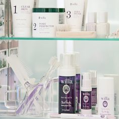 The two crews: Acne 3 Step and Daily Routine. Show us your willa love and send us a #shelfie with your favorite products. I have a feeling we'll be talking soon.