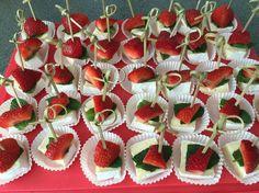 Brie-mint-strawberry
