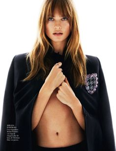 { Behati Prinsloo by Greg Kadel for Vogue Spain April 2014 }