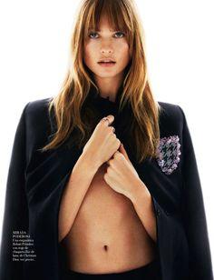 { Behati Prinsloo by Greg Kadel for Vogue Spain April 2014 }
