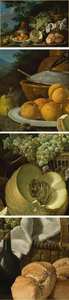 The Afternoon Meal (La Merienda), by Luis Egidio Meléndez. On Metropolitan Museum of Art.