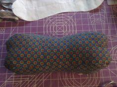 Recently I brought my dad's dilapidated neck bone pillow home, took it apart, made a pattern and sewed a new one for my mom. (I thought the ragged one belonged to her.) Not until I gifted t…