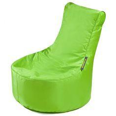 #Kindersitzsack von Pushbag - Small Seat: Lime