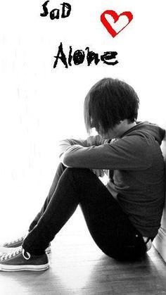 Trendy Wall Paper Sad Alone Ideas Sad Alone, Alone Art, I Feel Alone, Feeling Alone, Feeling Sad, Alone Boy Wallpaper, Love Wallpaper For Mobile, Love Couple Wallpaper, Boys Wallpaper
