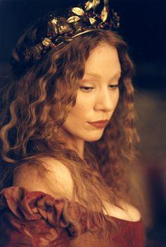 Lynn Collins as Portia in Shakespeare's 'The Merchant of Venice'