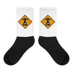 Abduction Zone - Black Foot Socks