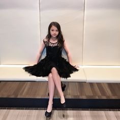 Every little girl likes to dress up once in a while, right? Girls Short Dresses, Cute Little Girl Dresses, Little Girl Models, Cute Girl Outfits, Child Models, Dance Outfits, Cute Dresses, Beautiful Japanese Girl, Beautiful Little Girls
