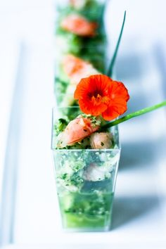 Appeitzer by Feast Catering- Prawn Ceviche Verde