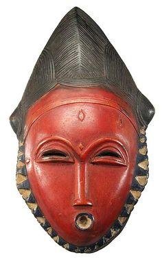 Baule Mask 115, Ivory Coast - Photo: Tim Hamill