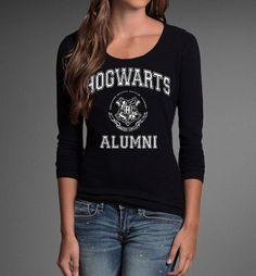 Hogwarts Alumni Long Sleeves T-shirt
