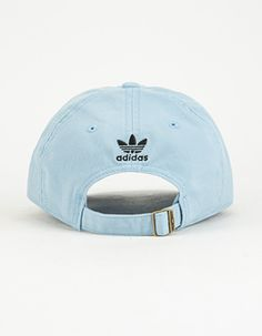 e138aa5dda8 ADIDAS Originals Relaxed Womens Dad Hat Blue Outfits With Hats
