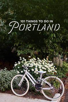 Ultimate Portland Bucket List - 101 Things to Do in Portland Oregon // localadventurer.com #TravelDestinationsUsaOregon