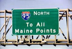 """""""Every Spring, I head my car north,"""" wrote E.B. White, """"and longed for the moment when my car crossed the Kittery Bridge and I plunged into Maine."""""""