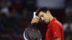 Top seed Novak Djokovic launched his Shanghai Open title defence in fine style, breezing past Spain's Marcel Granollers on Wednesday (Thursday in Manila). Thursday, Wednesday, Manila, Marcel, Tennis Racket, Shanghai, Product Launch, Top, Style