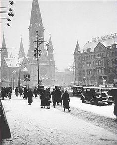 Berlin Gedächtniskirche im Winter 1938