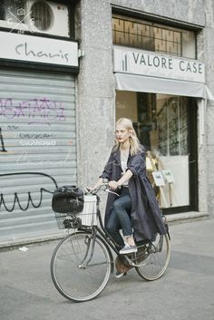 Milan Fashion Week 2015 S/S Street Style :Day 1 #model #offdty #aymelinevalade