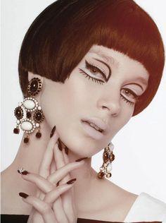"Brianna Mellon in ""Al La Mod"" byTimothy R LoweryforVelvet Magazine, Spring/Summer 2013"