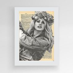 Instant download, Lana Del Rey Art, Lana Del Rey Poster, Lana Del Rey Dictionary Print, Poster Art Print, Lana Del Rey Gift by photoplasticon on Etsy