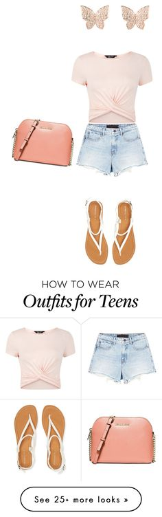 """Untitled #136"" by arpits on Polyvore featuring Latelita, New Look, Alexander Wang, Aéropostale and Michael Kors"