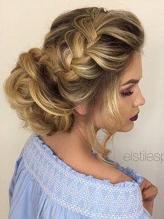 Elstile wedding hairstyles for long hair 62 - Deer Pearl Flowers / http://www.deerpearlflowers.com/wedding-hairstyle-inspiration/elstile-wedding-hairstyles-for-long-hair-62/