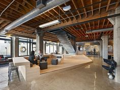 IWAMOTOSCOTT ARCHITECTURE designed the offices of Heavybit Industries