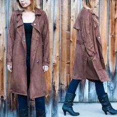 XX - CAMPBELL buttery soft trench coat - CAMEL 92% poly, 8% spandex. This is the most comfortable coat I've ever had! It's buttery soft, medium weight trench coat. A MUST HAVE for this cooler season! NO TRADE, PRICE FIRM Jackets & Coats Trench Coats