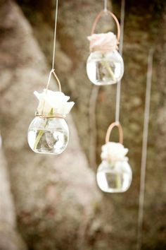 Dainty decorations for your outdoor day