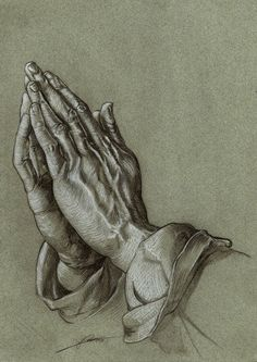The Praying Hands by AmBr0 on @DeviantArt