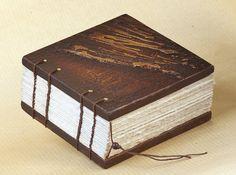 Mixed Media Book Art  Wooden Book Cover blank par InspiraeStudio, $79.00