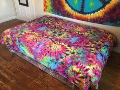Tie Dye Sheet Tapestry