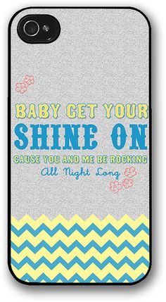 October Wish — Get Your Shine On iPhone Case