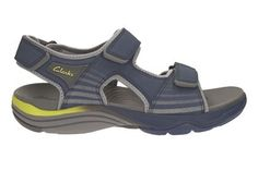 Clarks Wave Leap - Navy Synthetic - Mens Sports Sandals | Clarks