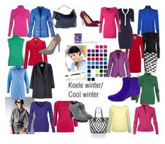 Cool Winter by roorda on Polyvore featuring mode, MM6 Maison Margiela, River Island, Hogan en Manolo Blahnik
