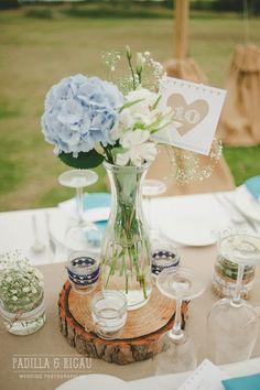 La boda de Carla + Pedro: El banquete Diseño: MissMrs, mucho más que una boda