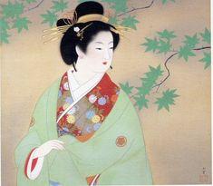 Japanese Art and Literature Japanese Art Styles, Japanese Prints, Japanese Artwork, Japanese Patterns, Japan Painting, Art Asiatique, Painting Gallery, Japan Art, Retro Art