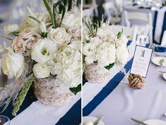 Nautical Wedding Decor | Beautiful Chesapeake Bay Wedding