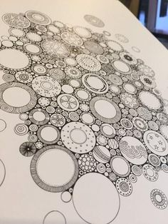 Tangle Doodle, Tangle Art, Zen Doodle, Doodle Art, Zentangle Drawings, Doodles Zentangles, Doodle Drawings, Easy Zentangle Patterns, Doodle Patterns