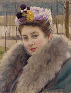 Louis Welden Hawkins, PORTRAIT OF A WOMAN