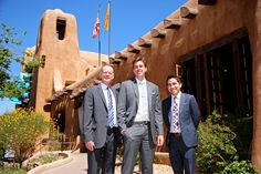 Handsome group of guys.  Nate, the groom, is wearing our Bargello Skinny Tie