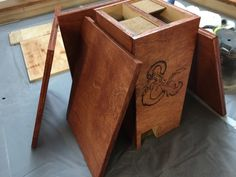 Wooden DM Screen and Dice Tower - Imgur