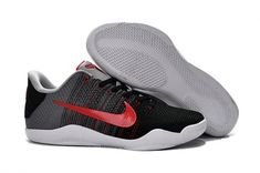 quality design bb6e1 3a26a Cheap Kobe 11 XI Elite Flyknit Tinker Hatfield University Red Cool Grey  Black 822675 060 2018 Spring Summer Sale, New Arrival Kobe 11 Hot Sale