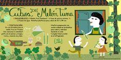 Cositas Ricas Ilustradas por Pati Aguilera: Cubos de Melón Tuna