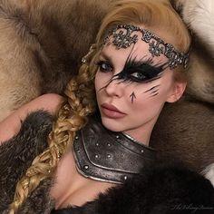 Posts about Viking Makeup written by TheVikingQueen Viking Halloween Costume, Vikings Halloween, Halloween Make Up, Halloween Face Makeup, Sfx Makeup, Cosplay Makeup, Costume Makeup, Makeup Art, Krieger Make-up