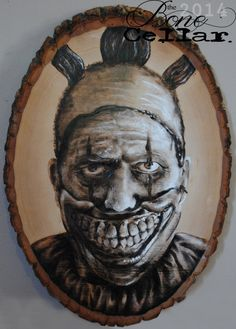 Hey, I found this really awesome Etsy listing at https://www.etsy.com/listing/215528790/american-horror-story-twisty-wood