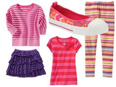 by girlsgonechild, via Flickr #backtoschoolspecials http://oldnavy.promo.eprize.com/pintowin/ Back To School Special, First Day Of School, Back To School Fashion, Back To School Outfits, School Looks, School Items, Niece And Nephew, Girly Girl, My Girl