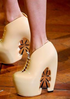 Beauty By Design // Street Style Blog : 5 couture shoes that wow: the beautiful and the beastly.
